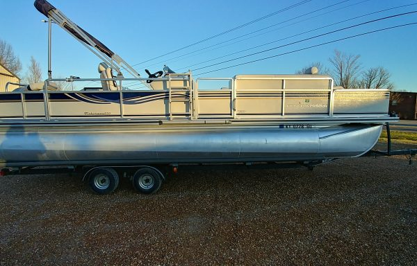 TRIPLE TUBE! Used 2004 Harris Fisherman 25ft Triple Tube w/ Honda 200 and Trailer Consignment